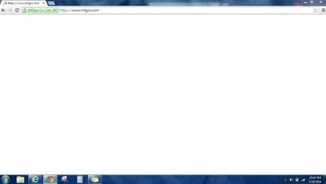Mtgox crashed website