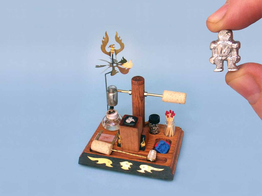Desktop Foundry & Make Robot